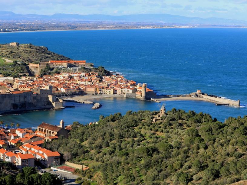 Après midi dans les hauts de Collioure