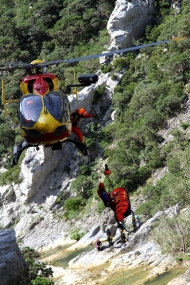 Sauvetage hélicoptère