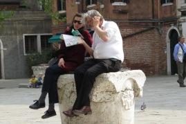 Touristes à Venise