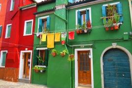 La maison verte Burano